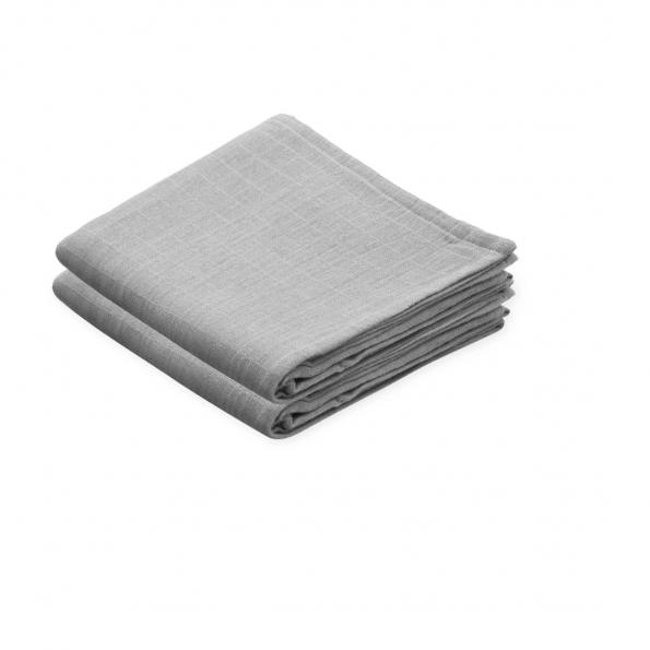 Cam Cam stofbleer 2-pak - grey