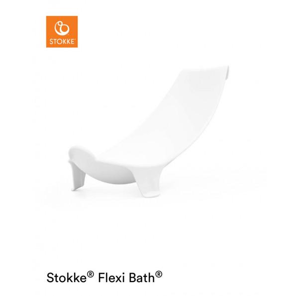Stokke Flexi Bath nyfødt supporter - Hvid