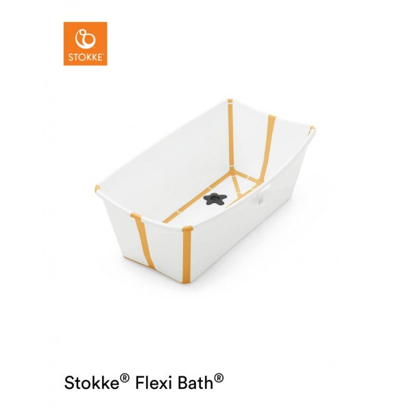 Stokke Flexi Bath badekar - White Yellow