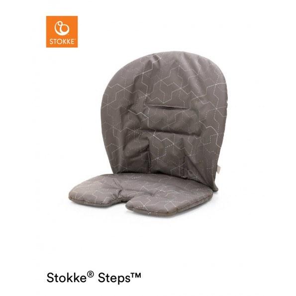 Stokke Steps Hynde - Geometric Grey
