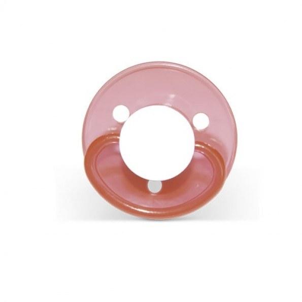 Mininor Rund Narresut Latex 6m+ 2-pak - Rød
