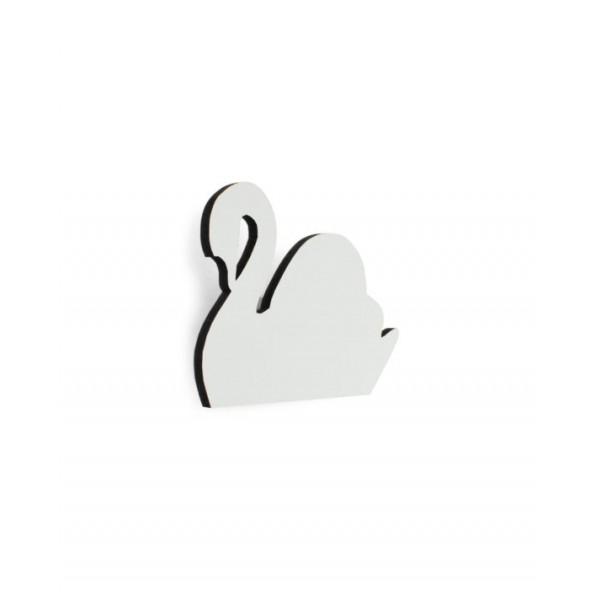 Svane knage (hvid) - Maseliving