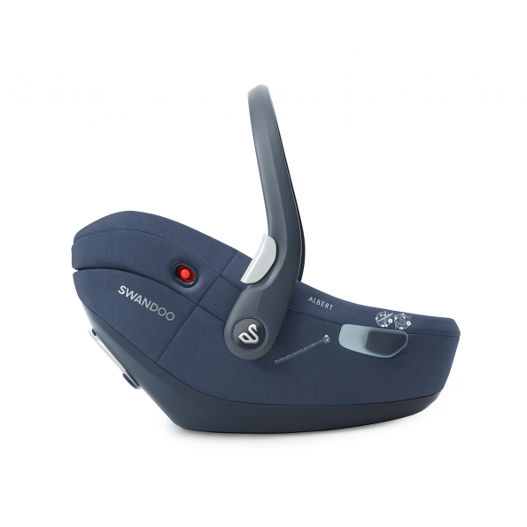 Swandoo Albert I-size 1.2 autostol - Blueberry