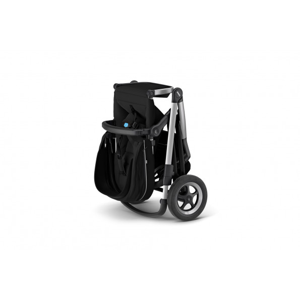 Thule Sleek kombivogn m. lift - Midnight Black