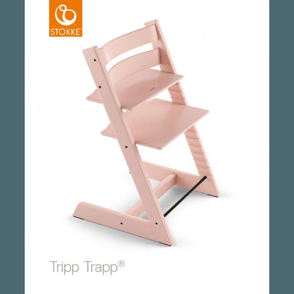 Tripp Trapp stol inkl babysæt - Serene Pink Højstol