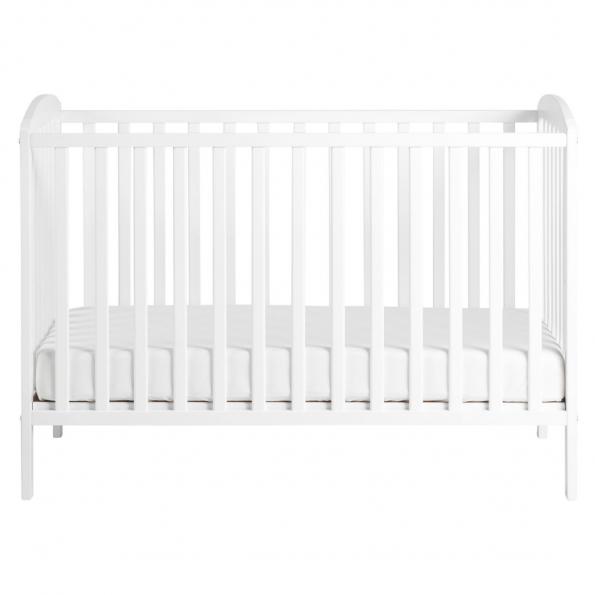 Tiny Republic Huxi tremmeseng 120x60 hvid + Baby Dan Comfort madras