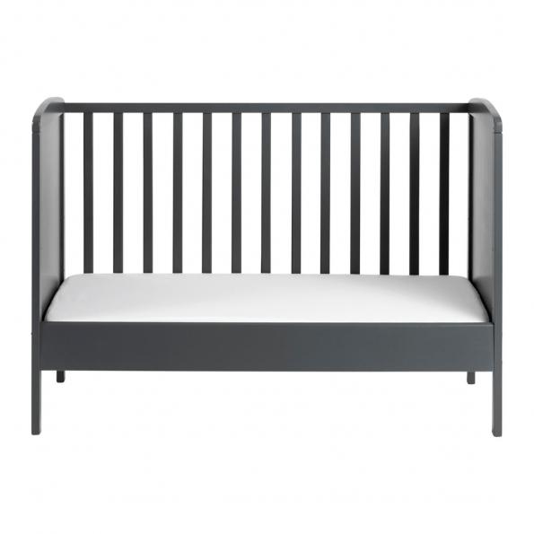Tiny Republic tremmeseng Nora 120x60 cm. grå + Neonate 5800 babyalarm