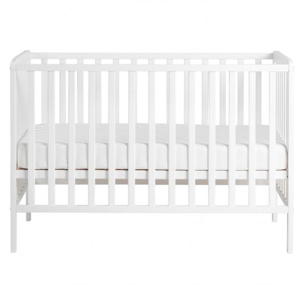 Tiny Republic Sofie Tremmeseng 120x60 cm - Hvid + Baby Dan Airlux Madras