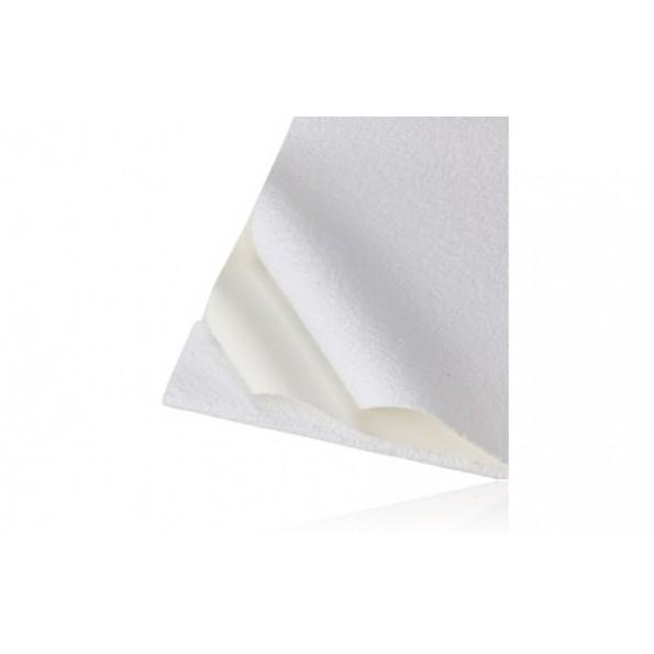 BabyDan frottéunderlag - hvid - 50x90 cm.
