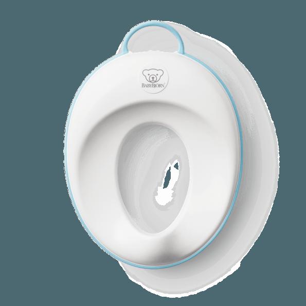 BabyBjörn toiletsæde - Hvid/Turkis