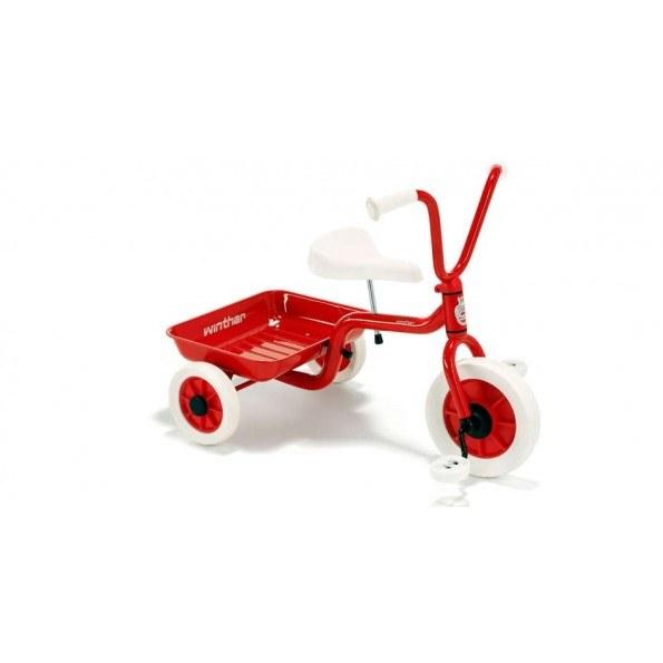 Winther Trehjulet cykel med lad - Rød