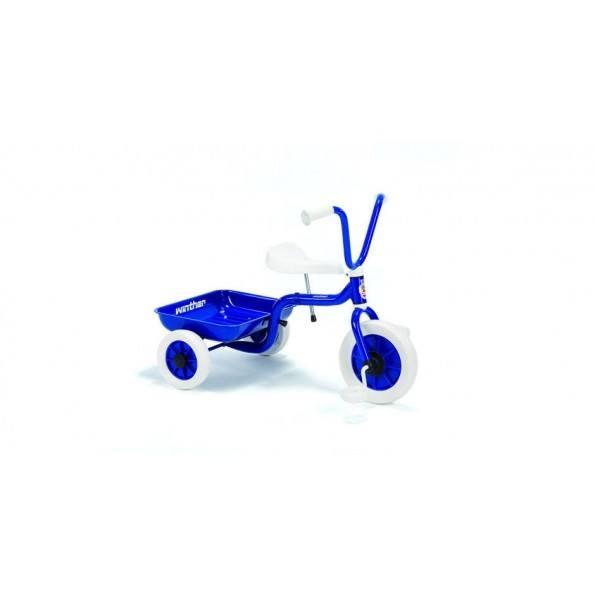 Winther Trehjulet cykel med lad - Blå