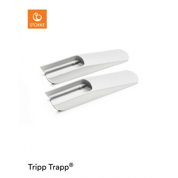 Tripp Trapp forlængerskinne - hvid