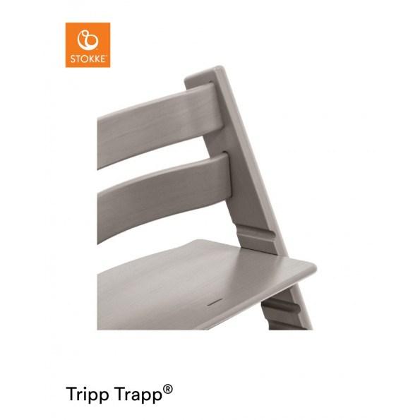 Tripp Trapp højstol i egetræ greywash