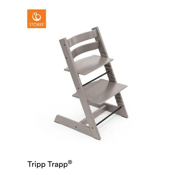 Tripp Trapp højstol i egetræ - greywash