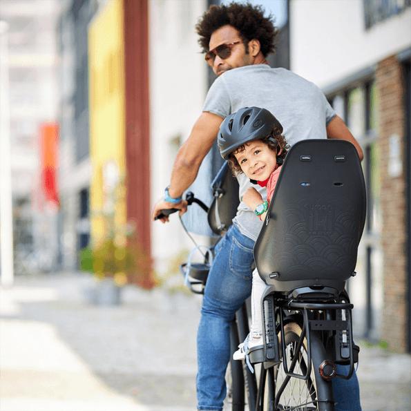 Urban Iki cykelstol bagpå – sort