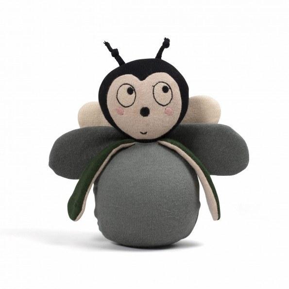 Filibabba Balder the Bug Væltebamse - Pine Green