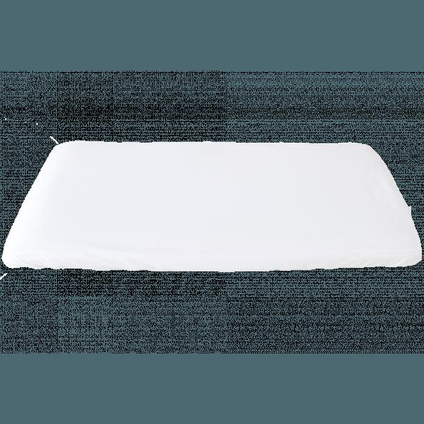 Heybasic stræklagen - hvid - 40x84 cm.