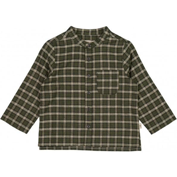 Wheat Laust skjorte mini - Winter Moss