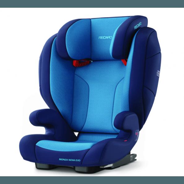 Recaro Monza Nova Evo, Autostol med isofix - Xenon blue