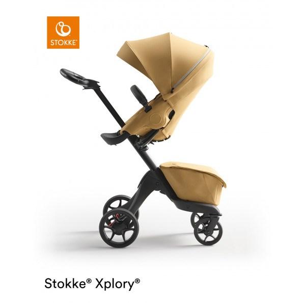 Stokke Xplory X kombivogn - Golden Yellow