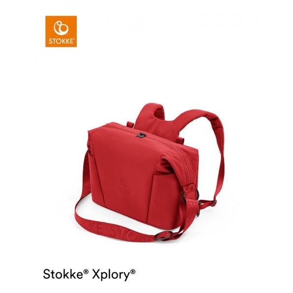 Stokke Xplory X pusletaske - Ruby Red