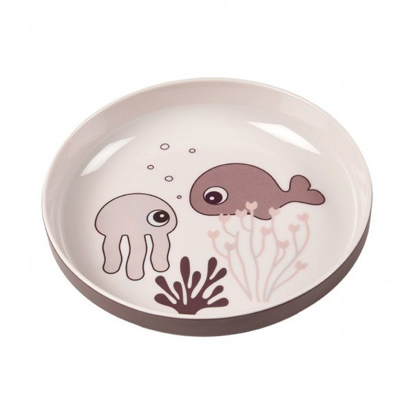 Done by Deer Yummy Mini Tallerken Sea friends - Pudder