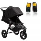 Baby Jogger City Elite og Neonate 5800 - sort
