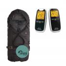 Neonate BC5800D Babyalarm + Sleepbag Mini Sort/Grå