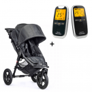Neonate 5800 babyalarm + Baby Jogger City Elite Charcoal denim