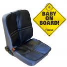Heybasic sædebeskytter inkl. Pixizoo Baby on Board