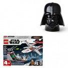 Darth Vader Opbevaringshoved  + LEGO Star Wars X wing stjernejager