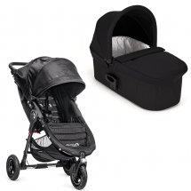 Baby Jogger City Mini GT sort med Deluxe pram sort