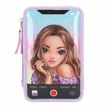 Topmodel trippel penalhus m/LED - Selfie
