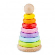 New Classic Toys Stabler +12 mdr - regnbuens farver