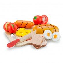 New Classic Toys Skære sæt +24 mdr - morgenmad