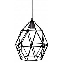 KidsDepot Wire Pendel Lampe - Sort (Ø27cm)
