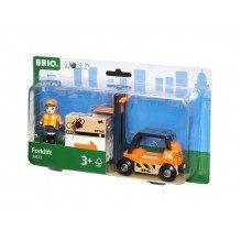 BRIO World - Gaffeltruck - 33573