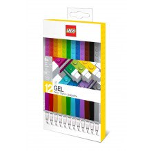 LEGO Classic gel kuglepenne, 12 stk. - Multi