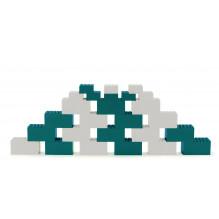 Dantoy byggeklodser 26 stk - Blå/Grå