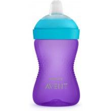 Philips Avent blød drikkedunk 300 ml - Purple/turkis