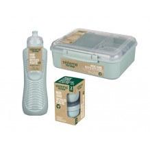 Sistema Renew madpakkesæt 3 dele - Grøn