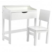 Tiny Republic skrivebord og stol til børn - Hvid