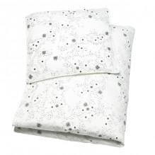 Tiny Republic babysengetøj 70x100, Snow Flake - Hvid