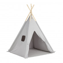 Tiny Republic Tipi Legetelt - Light Grey
