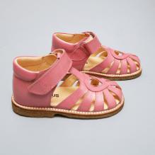 Angulus begynder sandal m. velcrolukning - Rosa Pink