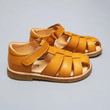 Angulus sandal m. velcrolukning - Gul