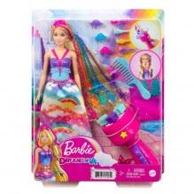 Barbie Feature Hair Princess dukke