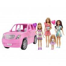 Barbie fest limousine m. 4 dukker