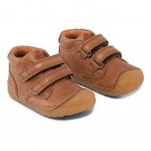 Bundgaard Petit Velcro sko  - Caramel